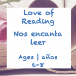 Week 27 Love of Reading Card Ages 6-8
