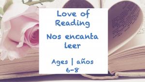Semana 27 Tarjeta de amor a la lectura Edades 6-8