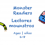 Week 28 Monster Reader Card Ages 6-8