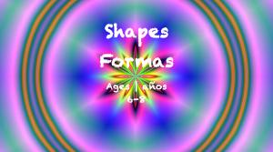 Semana 33 Tarjeta de formas Edades 6-8