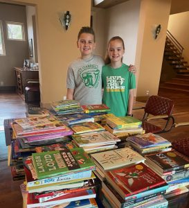 Super Bowl Book Drive hosted by St Gabriel's Catholic School
