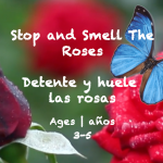 Weekly Themes 34: Smell the Roses Card Ages 3-5