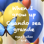 Week 35 When I Grow Up Card Ages 6-8