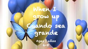 Semana 35 Tarjeta Cuando sea mayor Edades 6-8