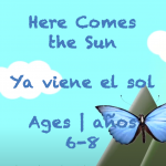 Week 38 Here Comes The Sun Ages 6-8