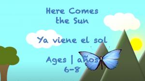 Semana 38 Aquí viene el sol Edades 6-8