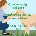 Week 39 Community Helpers Card Ages 3-5