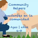 Week 39 Community Helpers Card Ages 6-8