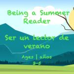 Week Summer Reader Card Ages 3-5