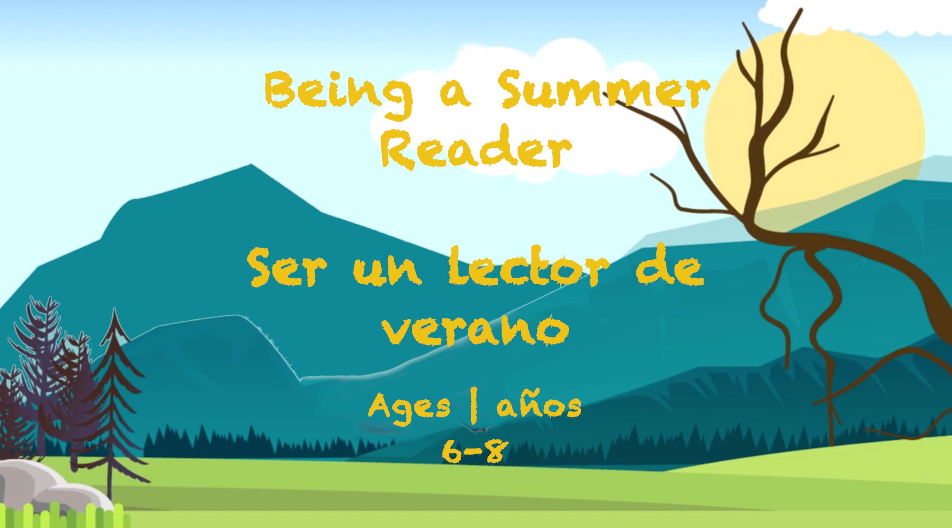 Weekly Themes #44 Being a Summer Reader   Ser un Lector de Verano for 6-8 year olds