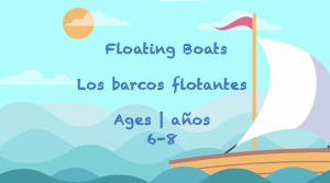 Weekly Themes 51 Floating Boats Card Ages 6-8