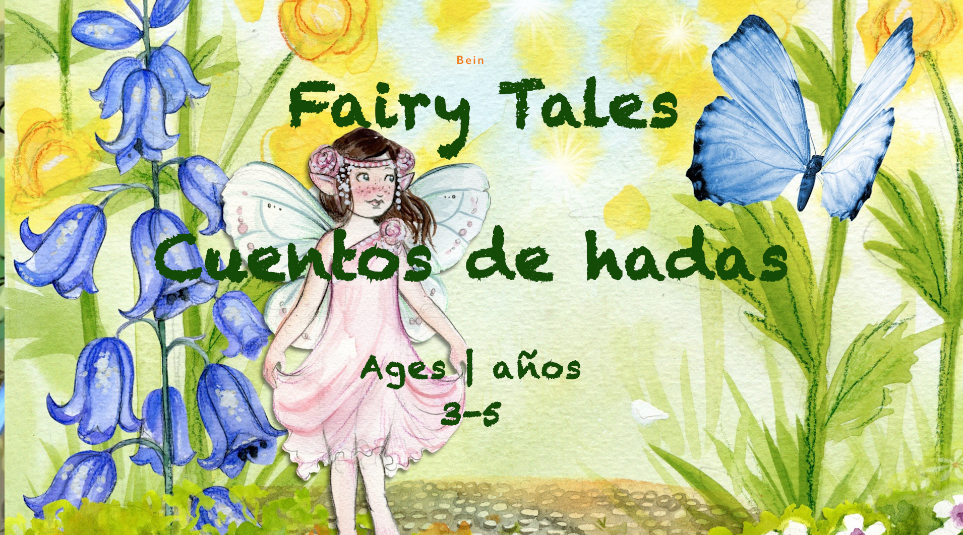 Week Fairy Tales Card Ages 3-5