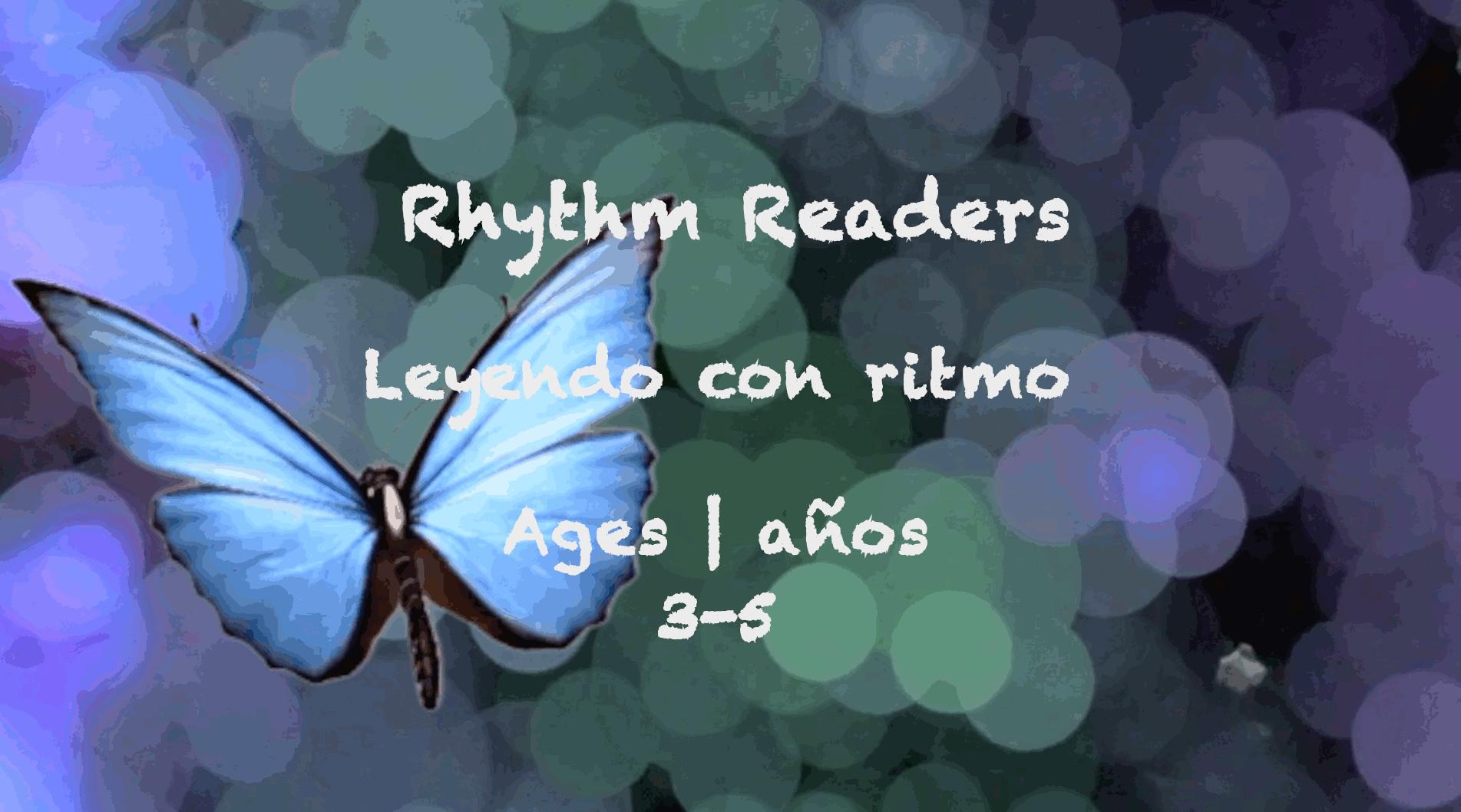 Week 52 Rhythm Readers Card Ages 3-5